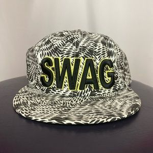 Swag Skater Optical illusion SnapBack hat